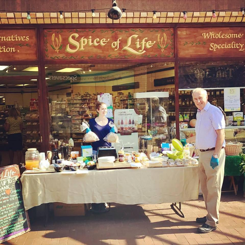 shop front view of Spice of Life