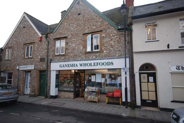 shop front view of Ganesha Wholefoods