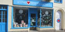shop front view of Archie Browns