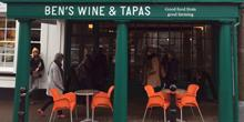 shop front view of Ben's Wine and Tapas