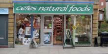 shop front view of Ceres Natural Foods