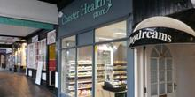 shop front view of Chester Health Store