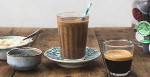 Presentation photo of Healthy Coffee Smoothie