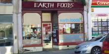 shop front view of Earth Foods