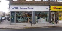 shop front view of Earth Natural Foods