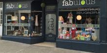 shop front view of Fabulous