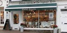 shop front view of Field Fayre