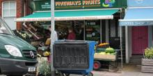 shop front view of Fiveways Fruits