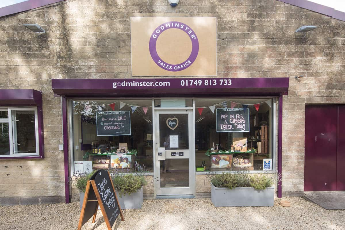 shop front view of Godminster Farm