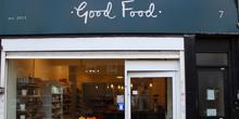 shop front view of Good Food
