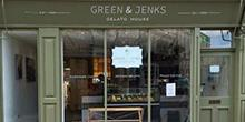 shop front view of Green & Jenks