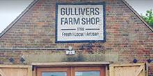 shop front view of Gulliver's Farm Shop