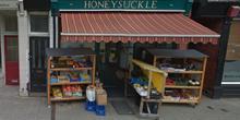 shop front view of Honeysuckle Wholefoods Co-op