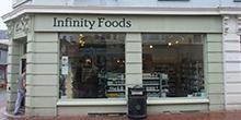 shop front view of Infinity