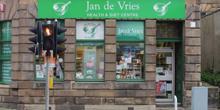 shop front view of Jan de Vries Healthcare
