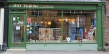 shop front view of Just Trading
