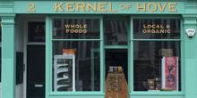 shop front view of Kernel of Hove