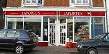 shop front view of Laporte's