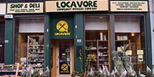 shop front view of Locavore