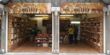 shop front view of McCall's Organics