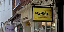 shop front view of Mustard Coffee Bar