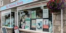 shop front view of The Natural Store