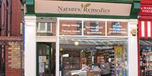shop front view of Nature's Remedies