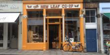 shop front view of New Leaf Co-Op
