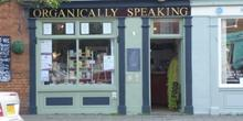 shop front view of Organically Speaking