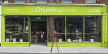 shop front view of The Organic Supermarket