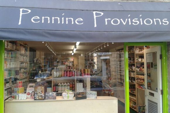 shop front view of Pennine Provisions