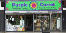 shop front view of Purple Carrot