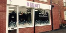 shop front view of The Rabbit Cafe
