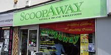 shop front view of Scoopaway Health Foods
