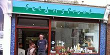 shop front view of Seed 'n' Sprout