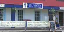 shop front view of St Davids Food and Wine