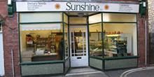 shop front view of Sunshine Health Shop
