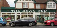 shop front view of The Bran Tub