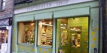 shop front view of The Health Shop