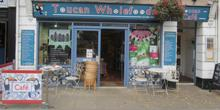 shop front view of Toucan Wholefoods