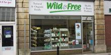 shop front view of Wild and Free